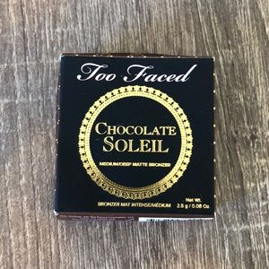 4/$25 Too Faced Matte Bronzer